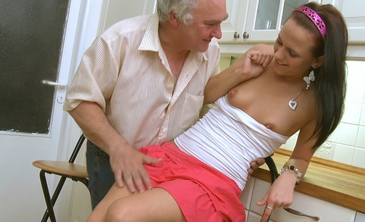 Luba loves to get it on with the older dudes