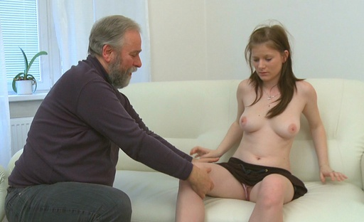 There is a certain beauty in seeing a young babe getting fucked by an old dude!