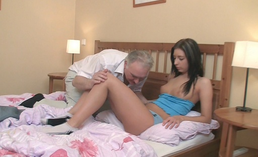 Zarina realises that to become good in bed, you simply have to fuck an old guy